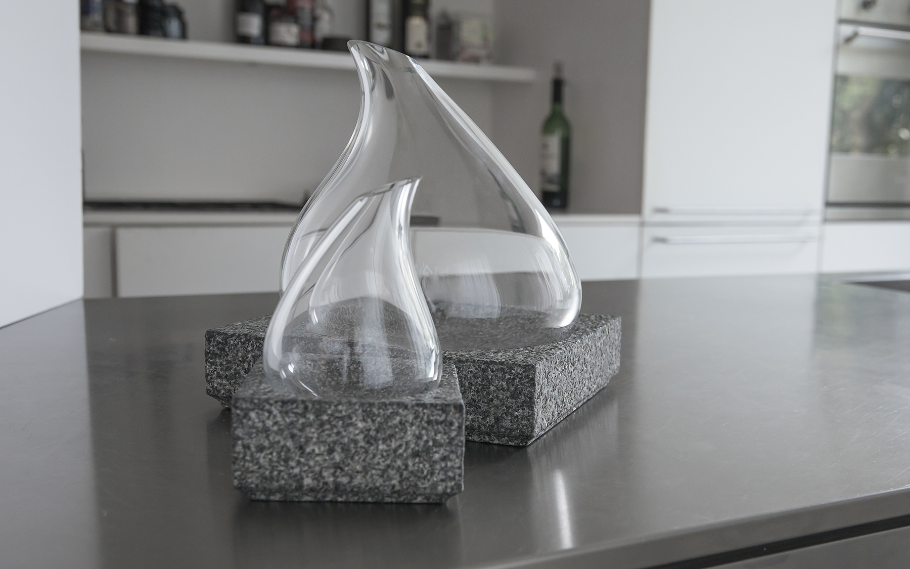 COOL CARAFE design Lars Vejen for Nishimura Stone and Stenholt Glass 02