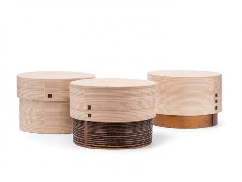 WAPPA wooden boxes by Lars Vejen for Kazuki Hanafusa