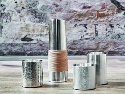 SAIBI pewter cups and pitcher Design Lars Vejen for SEIKADO 01
