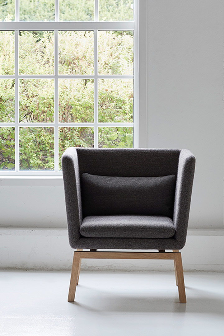 bond lounge chair by Lars Vejen for MH Møbler