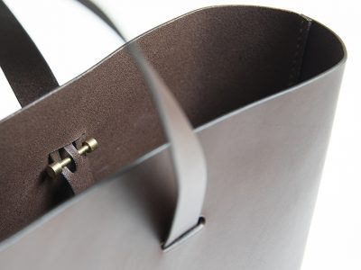 CUT bag by Lars Vejen for Leather By Hands 02