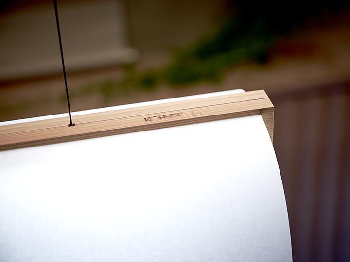 ENSO lamp Lars Vejen pendant lamp for KOHSEKI Ogata12